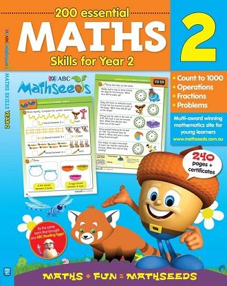 ABC Mathseeds Maths Skills for Year 2