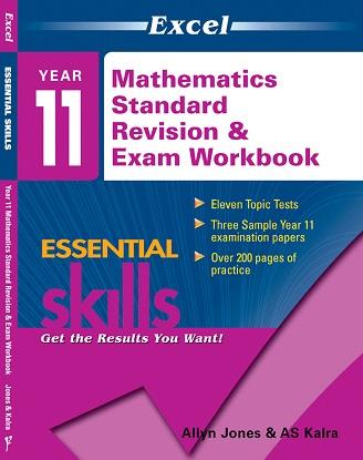 Excel Essential Skills Year 11 Mathematics Standard Revision & Exam Workbook