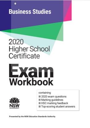 2020 HSC Exam Workbook:  Business Studies