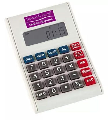 Fountas & Pinnell Benchmark Assessment System Calculator/Stopwatch