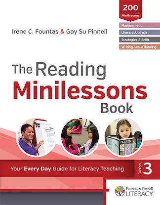 fountas-and-pinnell-classroom-reading-minilessons-3-9780325098647