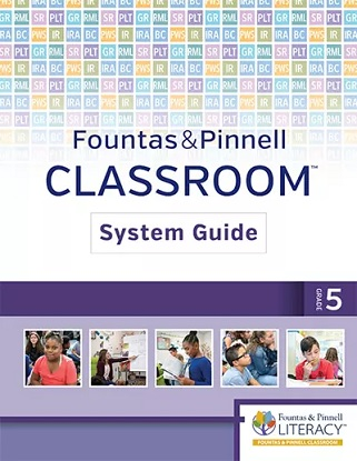 fountas-and-pinnell-classroom-system-guide-5-9780325111926