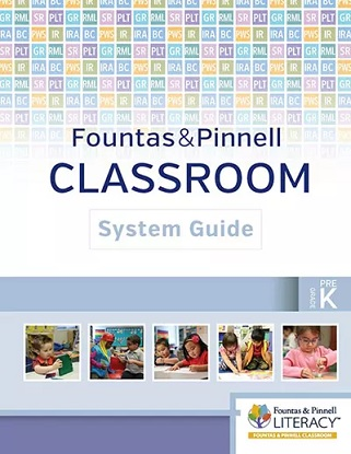 fountas-and-pinnell-classroom-system-guide-prek-9780325105710