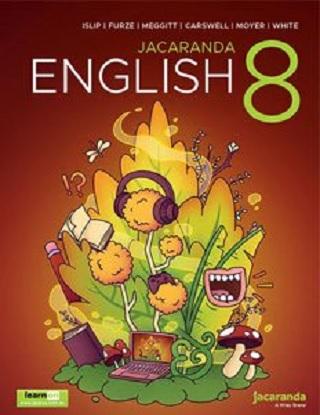 Jacaranda English: 8  [Text + LearnON]