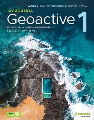 Jacaranda Geoactive NSW:  1 5e [Text + LearnON]