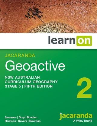 Jacaranda Geoactive NSW:  2 5e [LearnON Only]