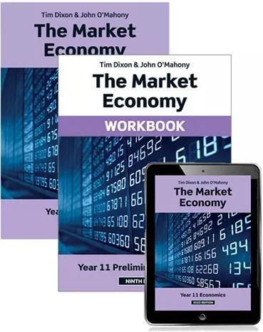 The Market Economy:  2022 [Text + eBook + Workbook]