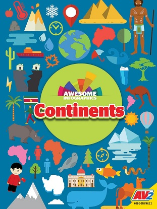 Awesome Infographics:  Continents