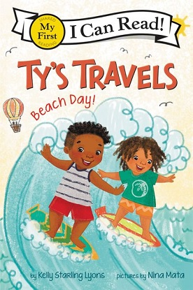 My First I Can Read!:  Ty's Travels - Beach Day!