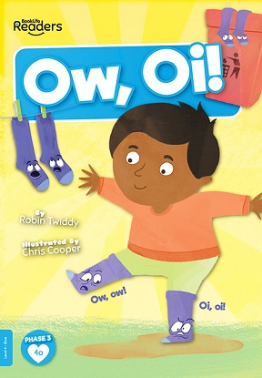 BookLife Readers Level 4 (Blue):  Ow, Oi!