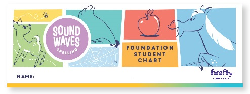 Sound Waves Spelling Foundation Student Chart