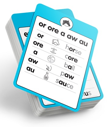 Sound Waves Spelling Standard Sound Box Cards (A5)