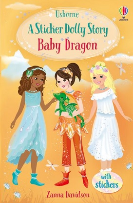 Sticker Dolly Stories:  4 - Baby Dragon