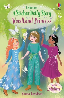 Sticker Dolly Stories:  7 - Woodland Princess