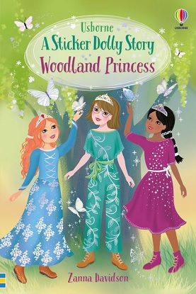 Sticker Dolly Stories:  7 - Woodland Princess Library Edition