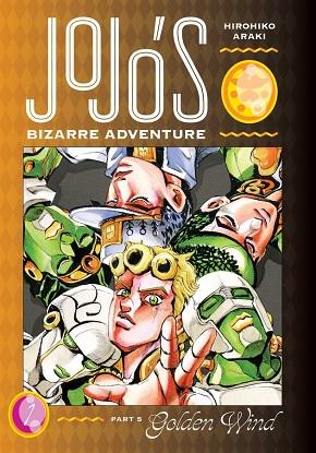 JoJo's Bizarre Adventure: Part 5 - Golden Wind Vol. 1 (Graphic Novel)