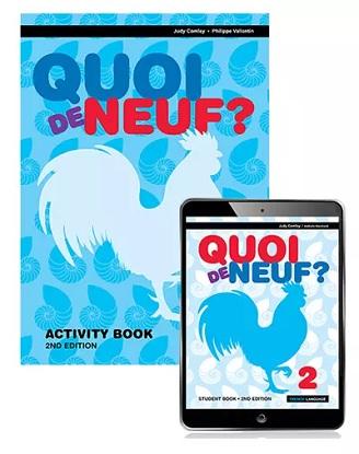 Quoi de Neuf?  2 [eBook + Activity Book] 2e