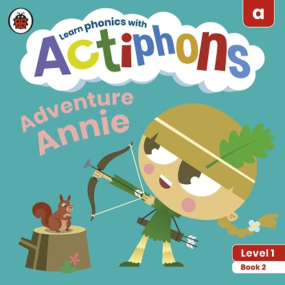 Actiphons Level:  1 - Book  2 Adventure Annie: Learn phonics and get active with Actiphons!