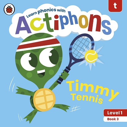 Actiphons Level:  1 - Book  3 Timmy Tennis: Learn phonics and get active with Actiphons!